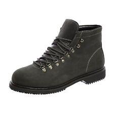 SFC Shoes For Crews Alpine Black Leather Men's Shoes 8284 Size 12 / 46 $99 NEW
