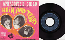 "APHRODITE'S CHILD - RAIN AND TEARS Ultrarare 1968 french PSYCH 7"" P/S Single!"