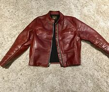 Vanson Comet Leather Jacket Size 46