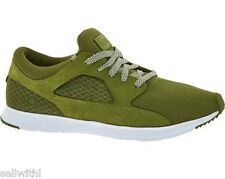 MEN'S RANSOM ARMY GREEN VALLEY LITE TRAINERS - SIZE UK 8 - ARMY GREEN ***NEW***