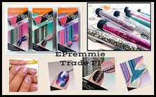 Nail Glitter kit by Sally Hansen 9 Shades + applicators. SEE PRODUCT DESCRIPTION