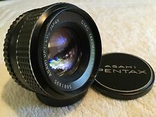 SMC TAKUMAR 55mm 1:1.8 PRIME LENS for PENTAX M42 MOUNT in VERY GOOD CONDITION