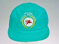Mobil Oil Pegasus Asset Team Snap Back Cap Winged Horse Hat