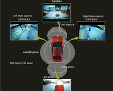 360 Degree Surround View System Car HD Parking Kit Reversing Camera Night vision