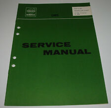 Service Manual Volvo P 120 Amazon 1800 Propeller Shaft Werkstatthandbuch 11/1967
