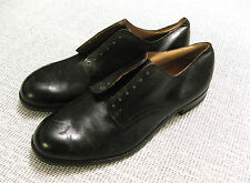 US ARMY Vietnam Service uniform Dress Shoes Black 1962 Size 14 1/2 R