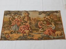 Vintage French Beautiful Romantic Scene Tapestry 50x95cm T839