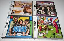 Lot of 4 Nintendo DS Games All Brand New!