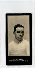 (Gw361-447) Smith, Footballers, No Title, #44 G.Stewart, Manchester City 1909 VG