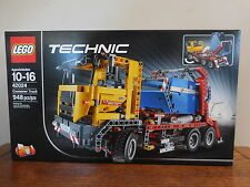 SEALED NEW LEGO 42024 2 in 1 TECHNIC CONTAINER DUMP TRUCK  948 pcs 10 to 16 age