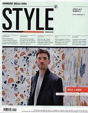 Style Corsera.Max Lamb,Philippe Nigro,Nika Zupank,David Dolcini,Max Vertsppen,ii