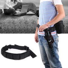 Photography Waist Belt Sling Hang Adjustable Strap Holder camera lens bag tripod