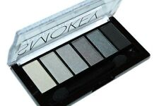 Technic Eyeshadows Palette Smokey Eye 6in1 grey silver black shades