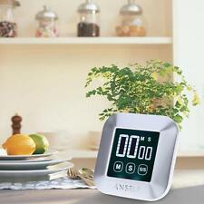 Digital Touch Screen Cooking Kitchen Timer Countdown Count Up Alarm Clock G7C2