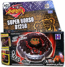 Beyblade Rock Orso Metal Fusion Starter Set w/ Launcher in RETAIL PACKAGING