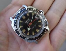 Pingard Moby Dick - vintage winding diver watch - 20ATM - works