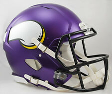 MINNESOTA VIKINGS NFL Riddell SPEED Full Size AUTHENTIC Football Helmet