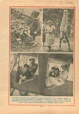 Concours International de Roses Bagatelle Bois de Boulogne   1933 ILLUSTRATION