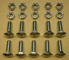 1960-1966 Chevy or GMC Pickup Truck Bumper Bolt Set (Front & Rear)