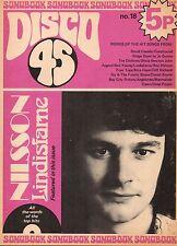 Disco 45 Magazine No.18 1972   Colin Blunstone   Lindisfarne   Pioneers  Nilsson