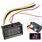 DC 0-100V Digital Voltmeter Ammeter Dual LED Panel Amp Volt Power Meter Guage