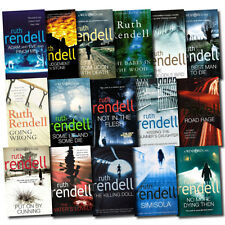 An Inspector Wexford Case Mysteries Series Collection Ruth Rendell 16 Books Set