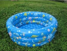 NEW KIDS SWIMMING POOL FOR TODDLER INFANT& BABY INFLATABLE W PUMP INFLATE SWIM