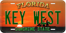 Key West Florida Novelty Aluminum Car License Plate P01