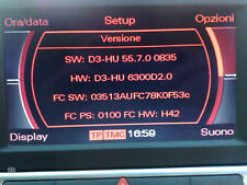 Audi 2016 MMI 2G High Software/Firmware 5570 Update Disc DVD A4/A5/A6/A8/Q7