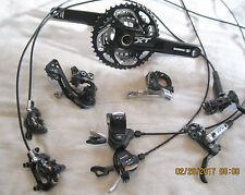Shimano XT M780 Group Set with Shimano SLX BR-M675 brakeset. 10spd, 3 x 10.