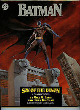 Batman Son of the Demon DC Comics NM/M Hardcover Book 1987 1st Print