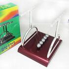 Newton's T Cradle Steel Balance Ball Physics Science Pendulum Desk Fun Gift Toy