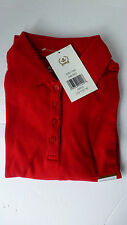 ARROW GIRLS RED POLO SHIRT SCHOOL UNIFORM SHIRT SZ LARGE L (12/14)