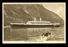 Shipping SS ORFORD Orient Line PPC Picture postcard