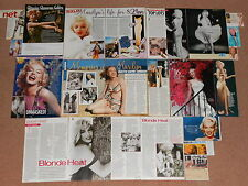 20+ MARILYN MONROE Magazine Clippings (A)