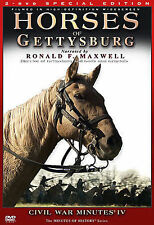 Horses of Gettysburg - Civil War Minutes IV (DVD, 2006, 2-Disc Set)
