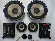 FOCAL PS165F3 Expert FLAX CONE 3 Ways System Speakers PS 165 F3 COMPONENT SET