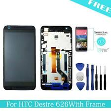 For HTC Desire 626 LCD Touch Screen Display Digitizer Assembly + Frame Black