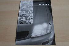 119263) Nissan Micra - technische Daten & Ausstattungen - Prospekt 03/1998
