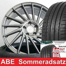 """18"""" ABE Keskin KT17 Palladium Komplettrad 225/40 für Mercedes E-Klasse 212"""
