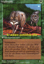 Foresta Lupi (Timber Wolves) Magic limited black bordered German Beta FBB Foreign D