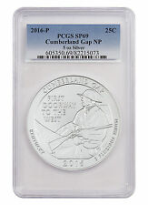 2016-P 25c 5 oz. Specimen Silver Beautiful ATB Cumberland Gap PCGS SP69 SKU44633