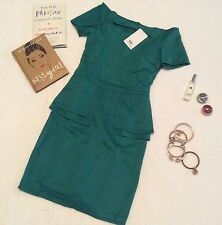 Apartment 8 Emmanuel Dress  - Medium - Green/Teal - BNWT ( celebrity x sfera)