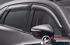MAZDA CX5 Weathershields Slimline Set of 4 New Genuine 2012-2015 Accessories