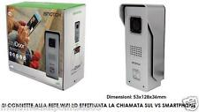 VIDEOCITOFONO IP WI-FI HD CON INTERNET ONE CLICK SI CONNETTE ALLA VS RETE WIFI