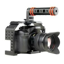 Fhugen Honu Video Camera Cage V2.0 with Top Handle and HDMI Clamp for GH 3/ GH4