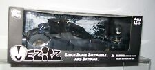 MEZITZ 2 INCH SCALE BATMOBILE & BATMAN THE DARK NIGHT RISES