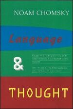 Language and Thought No. 3 by Noam Chomsky (1995, Hardcover)
