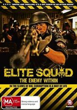 Elite Squad - The Enemy Within (DVD, 2012) Brand New & Sealed Region 4 DVD