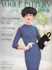 1956 Vogue Pattern Book 50s fashion sewing dressmaking magazine